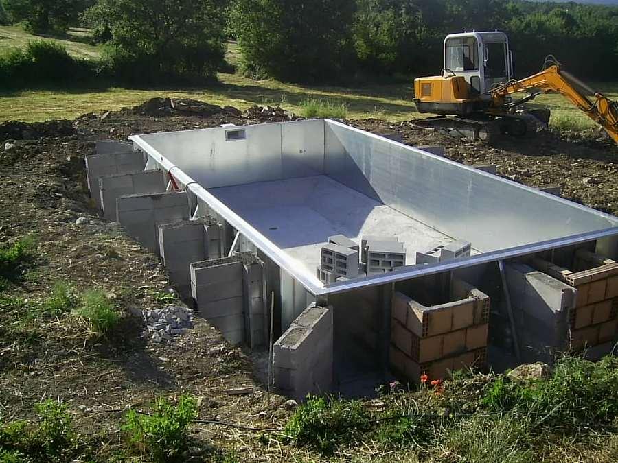Sp system piscine piscine for Laghetto pvc